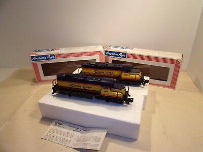 American Flyer Chessie System GP-20 Diesel 4-8459 6-48004 S Gauge W/ OB Tested