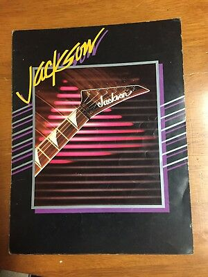 1986 Jackson guitars Catalog