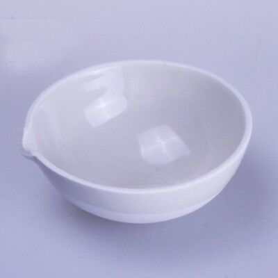 100ml Ceramic Evaporating dish Round bottom with spout For Laboratory