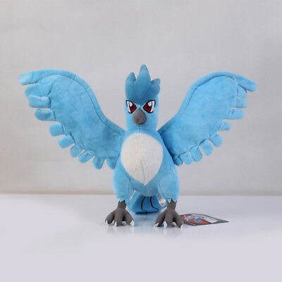 Pokemon Center Articuno Plush Toy 9 inch Stuffed Animal Soft Doll X'mas US SELL