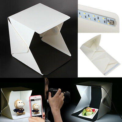 1X Mini Folding Portable Light Box Photo Studio Product Photography Background