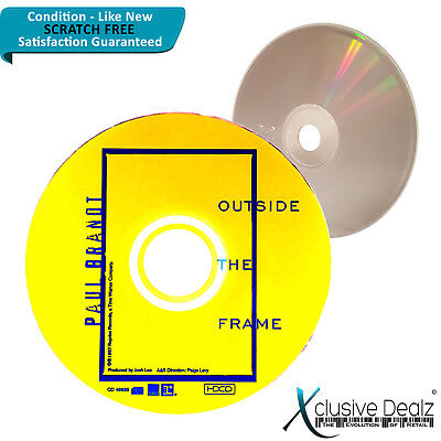 Outside the Frame by Paul Brandt 1997 Reprise Label CD - Scratch Free Disc #XD21