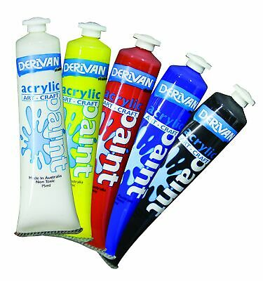 1x Derivan Student Acrylic 75ml, 40 colours to choose from