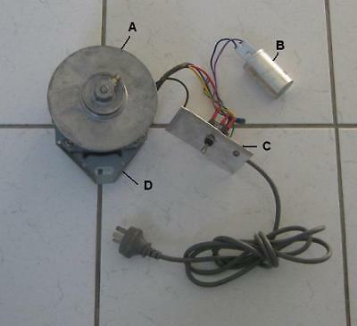Electric motor aud picclick au for Washing machine electric motor