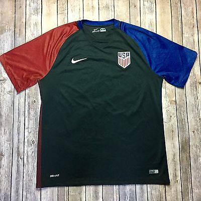 Nike Dry Fit Men's Team USA Soccer Away Tee Size XL