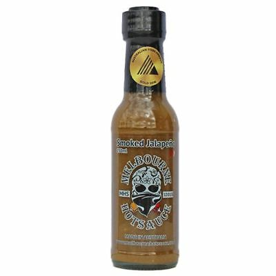 MELBOURNE HOT SAUCE Smoked Jalapeno. MADE IN AUST. Vegan, chilli, gluten free