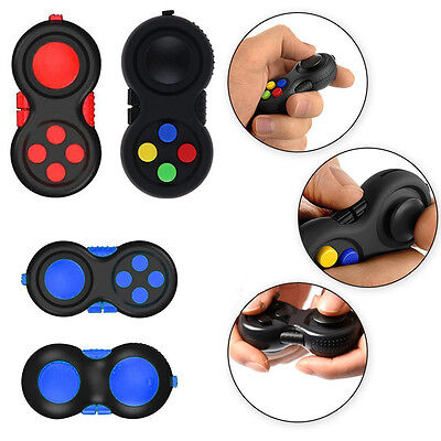 Relieves Stress Fidget Hand Shank Pad Handle For Autism ADHD  Focus Desk Toys