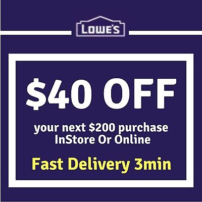 Two (2x) 15 off 75 Lowes • $1 99 - PicClick