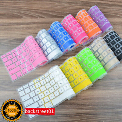 11 Colors Silicone Keyboard Cover Skin for Apple Macbook Pro MAC 13 15 17 Air 13