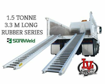 Sureweld 1.5T Loading Ramps 6/1533R Rubber Series