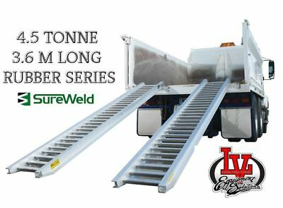 Sureweld 4.5T Loading Ramps 7/4536R Rubber Series