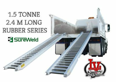 Sureweld 1.5T Loading Ramps 6/1524R Rubber Series