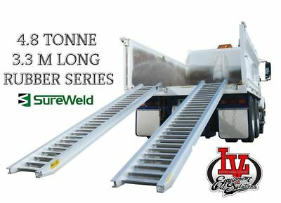 Sureweld 4.8T Loading Ramps 7/4833R Rubber Series