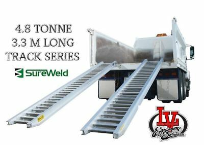 Sureweld 4.8T Loading Ramps 7/4833T Track Series