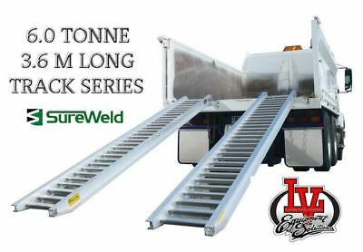 Sureweld 6.0T Loading Ramps 7/6036T Track Series