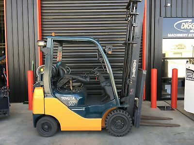 Toyota 32-8Fg18 1.8T Gas Forklift S/n-32115, Nissan, Hyster, Tcm, Mitsubishi