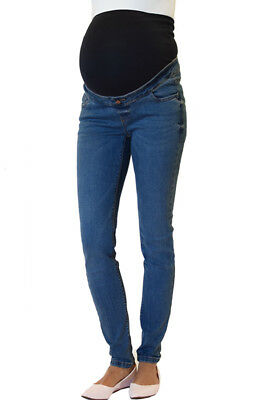 NEW LOOK Over Bump Skinny Maternity Jeans, Pregnancy Sizes: 8 12 14 16, Short