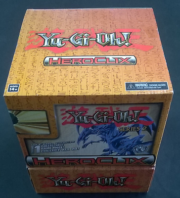 Yugioh Heroclix Box New