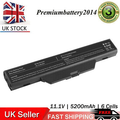 Battery for HP 550 Compaq 610 6735s 615 6720s 6730s 6820s 6830s HSTNN-IB51 UK P