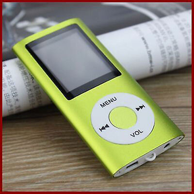 Lettore Mp4 Mp3 Player Video Audio Foto Radio Fm Divx Espandibile Fino A 32 Gb N