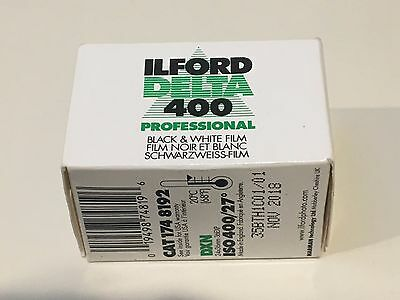 Ilford Delta 400 // professional black & white 35mm film 36 exp expiry Nov 2018