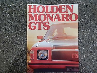 Holden 1976 Hx Gts Monaro Sales  Brochure  100% Guarantee.