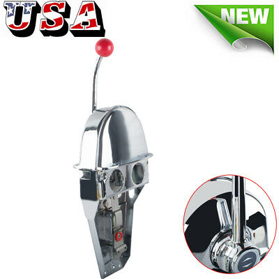 Universal Boat Single Lever Marine Engine Control Handle Top Mount Zinc Alloy
