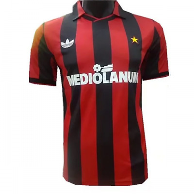 1991-1992 AC Milan home retro classic soccer football shirt jersey kit