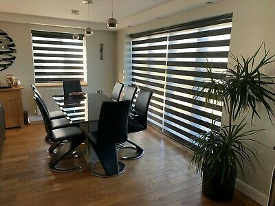 Motorised Day & Night Blinds with Remote Control - Shangri -  Made to measure