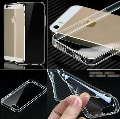 Shockproof Silicone Protective Clear Case Cover For Apple iPhone 5/6/6+/7/7 Plus