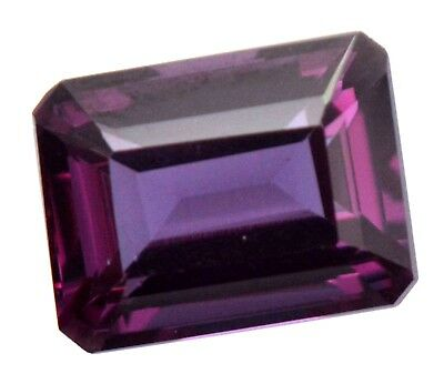10.70 Ct Natural Alexandrite Color Changing GGL Certified Emerald Cut Gemstone