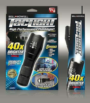 Bell + Howell Taclight High-Powered Tactical Flashlight - As Seen On TV - NEW!