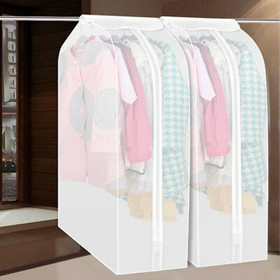 Hot Clothing Dress Garment Suit Coat Dust Covers Protector Wardrobe Storage Bags