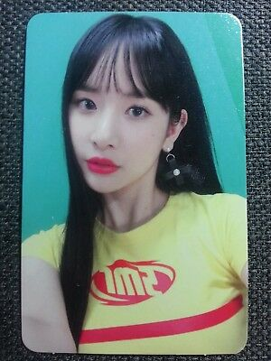 WJSN SEOLA Official PHOTOCARD #2 Happy Ver 4th Happy Moment Album Cosmic Girls