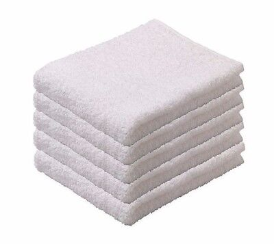 IKEA NÄCKTEN 100% Cotton White Guest Terry Hand Towels Bath Home Hotel