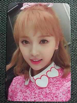 WJSN XUAN YI Official PHOTOCARD #1 Moment V 4th Happy Moment Album Cosmic Girls