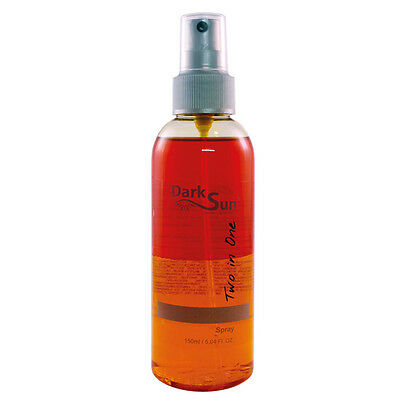 "Dark Sun ""Two in One Spray"" 150 ml Solarium Kosmetik Shaker Sonnenbank"