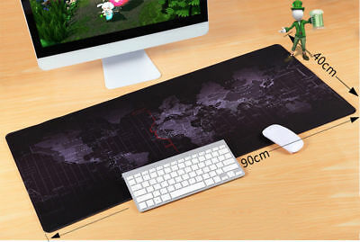 Extra Large XL Gaming Mouse Pad Mat for PC Laptop MacBook Anti-Slip 90cm *40cm