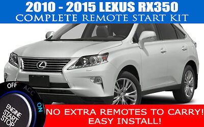 Fits: Lexus RX350 Remote Start Complete Kit 2010 - 2015 Easy Install!