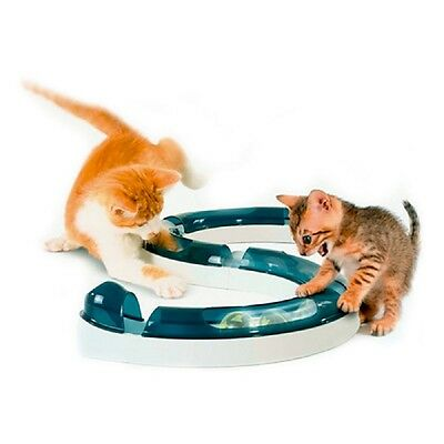 Interactive Cat Toy Kittens Chase Hunting Balls Circuit Senses Fun Easy Assemble