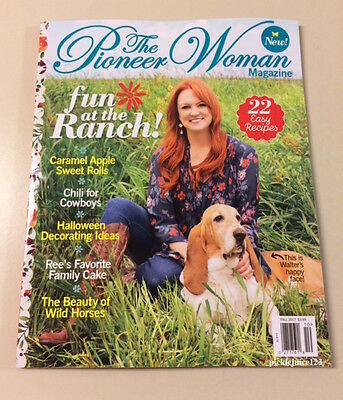 NEW The Pioneer Woman Magazine - Fun at the Ranch~ Fall 2017 Issue Ree Drummond