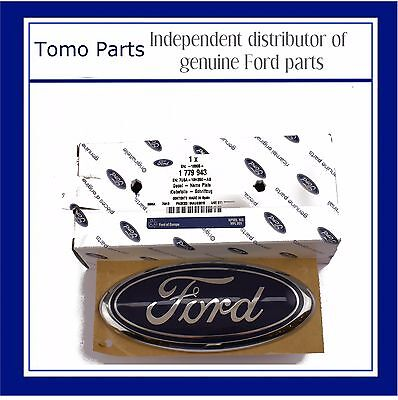 Genuine Ford Fusion 2002 Onwards Rear Boot Tailgate Oval Badge Emblem 1779943