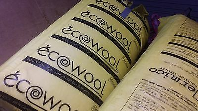 Ecowool Insulation batts- 12 bags available- $35.00 ea.