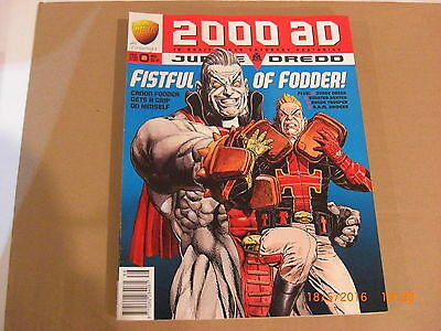2000AD prog #986   FISTFULL OF FODDER  Judge Dredd    dinos-old-toy-shop