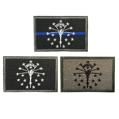 USA Dairyland Badger State Wisconsin WI Flag Army Tactical Morale Badge Patch
