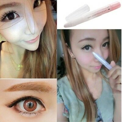 Professional White Pearl Eyeliner Pen Smooth Eye Liner Shadow Cosmetic