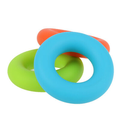 7cm Diameter Strength Hand Ring Muscle Power Training Rubber Expander Grip New