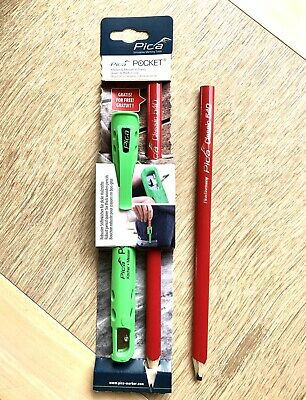 PICA pocket Carpenter x 2 Pencils + Quiver