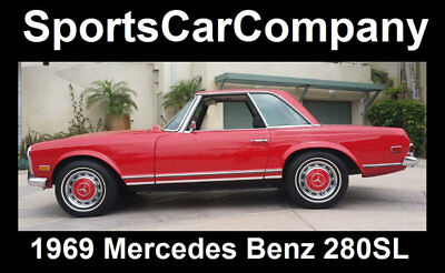 1969 Mercedes-Benz SL-Class  1969 MERCEDES BENZ 280 SL RESTORED RUST FREE 2 OWNER CALIFORNIA CAR Reduced$10k