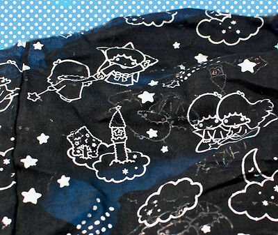 Loot Crate March 2017 Hello Kitty infinity scarf Little Twin Stars black Sanri